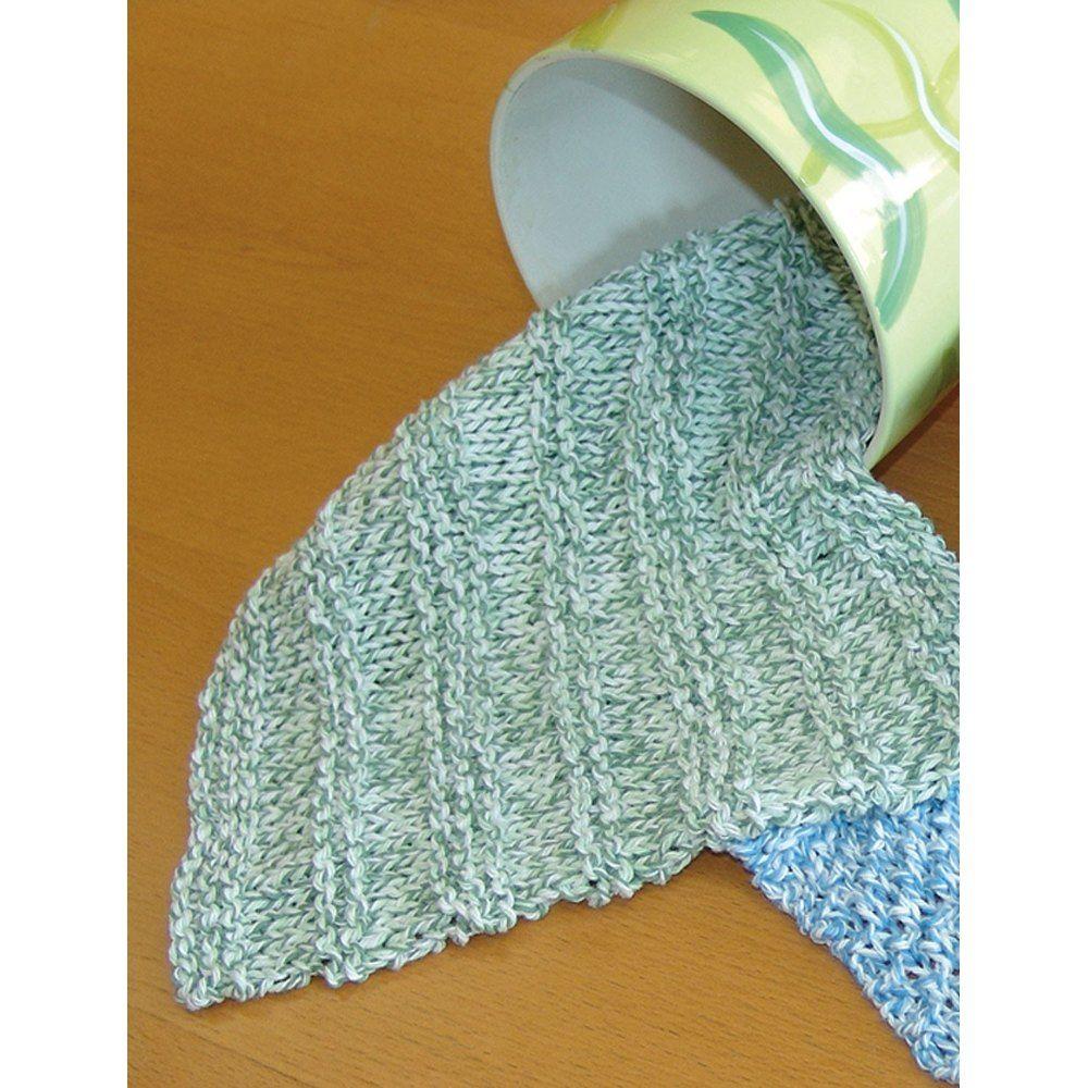 Dishcloths in Bernat Handicrafter Cotton Twists | Knitting ...
