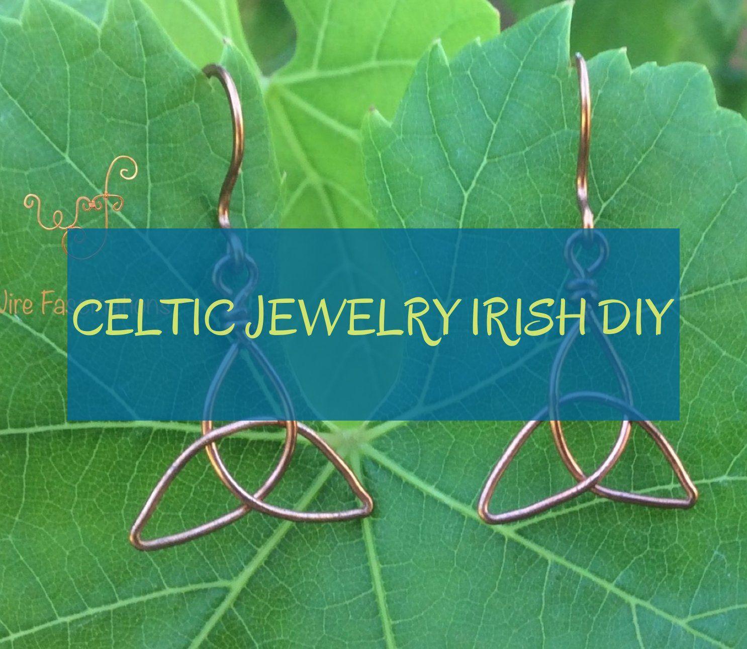 celtic jewelry irish diy