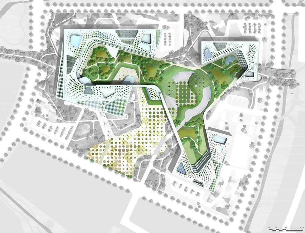 The design of a new Government Complex of ChungNam