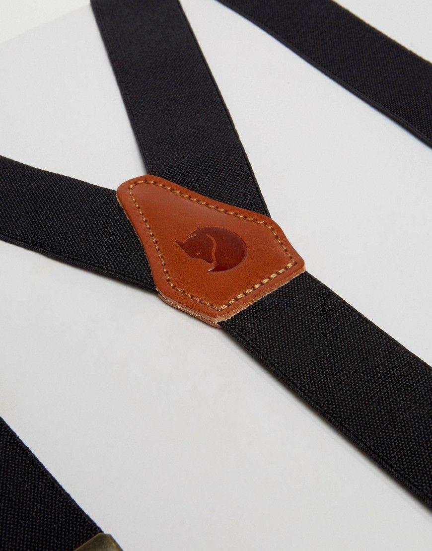Fjallraven Singi Loop Suspenders Dark Grey