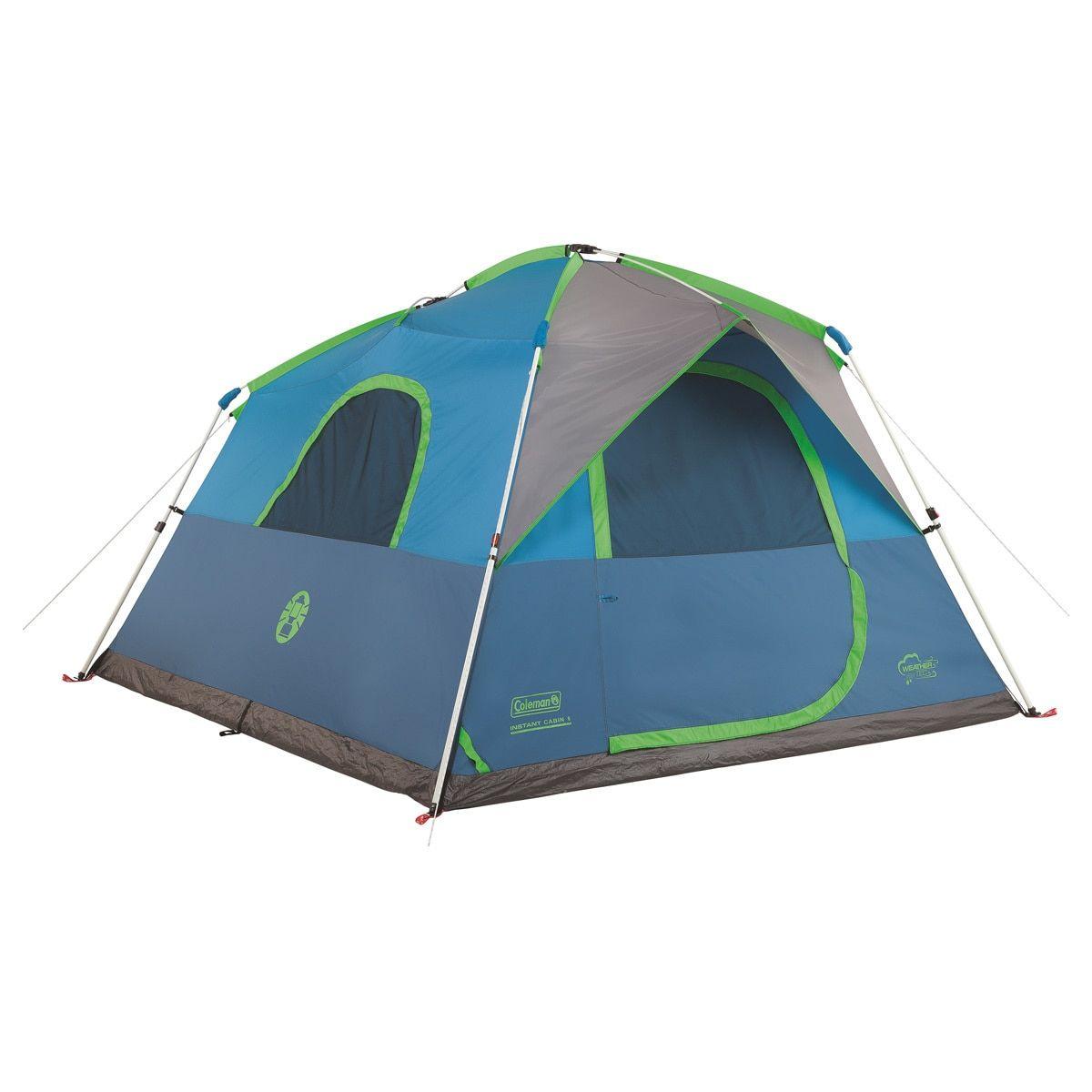 Coleman Tent 6p Instant Signal Mountain Blue Tent