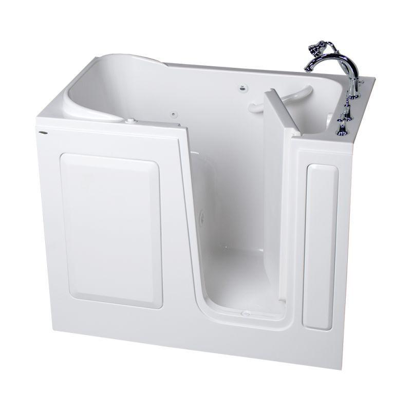 American Standard 2848 509 Wr Value 48 Acrylic Walk In Whirlpool