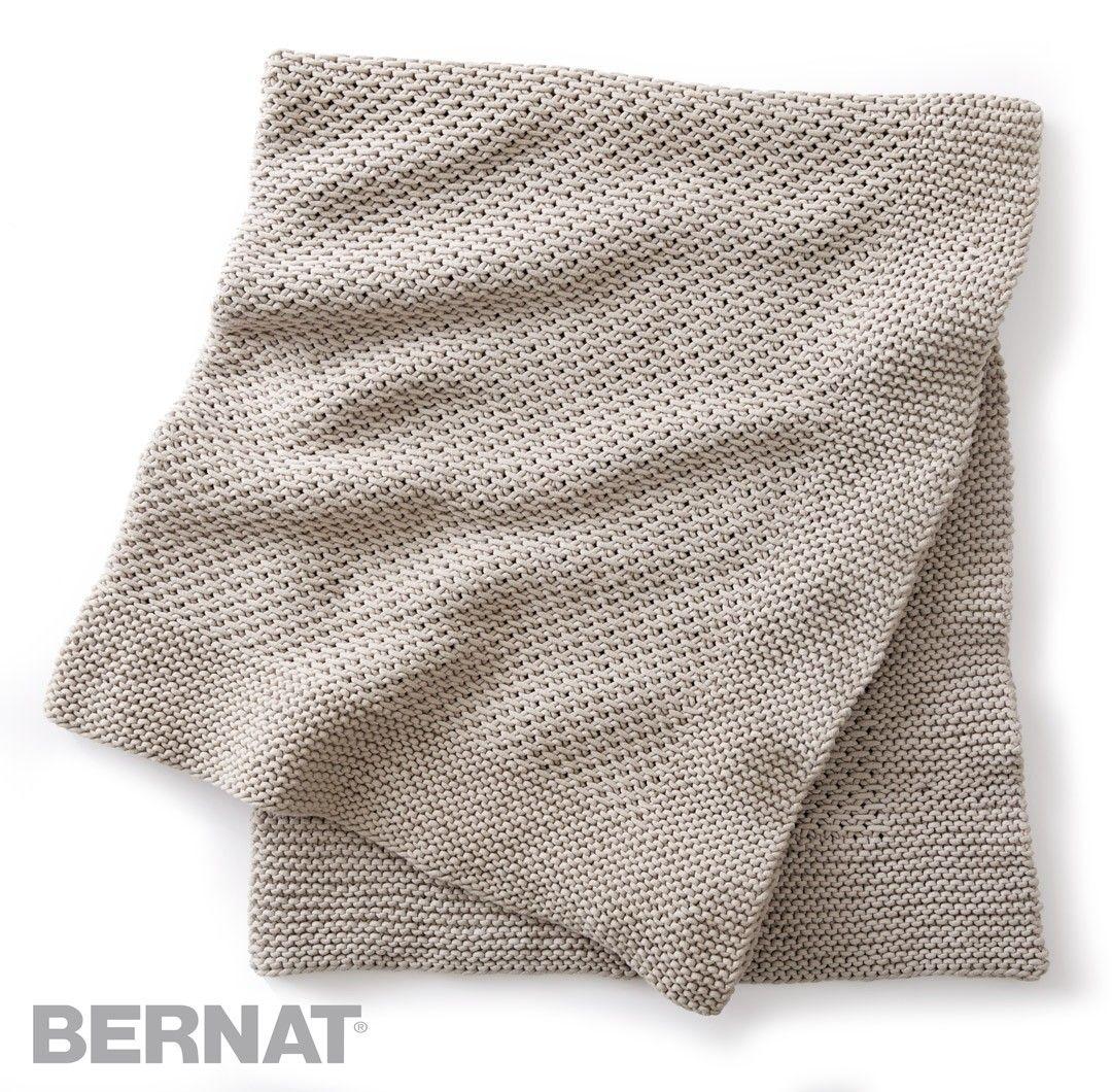 Quiet Times Knit Afghan | Stricknadel | Pinterest | Deckchen und ...