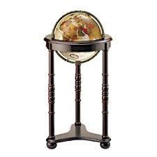 globe terrestre sur pied en bois maison lampe de sol. Black Bedroom Furniture Sets. Home Design Ideas