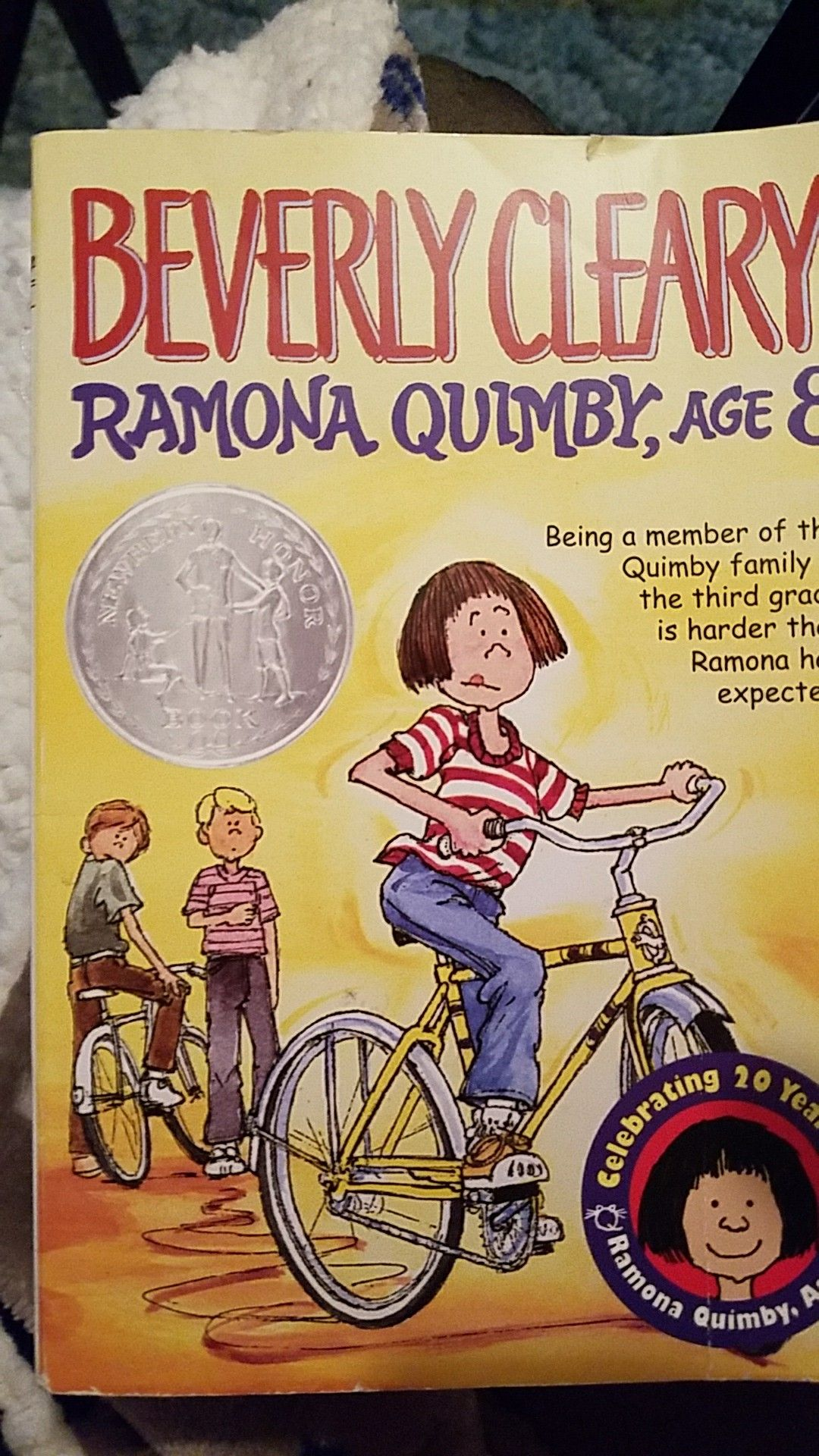 Ramona Quimby Age 8 Beverly Cleary With Images