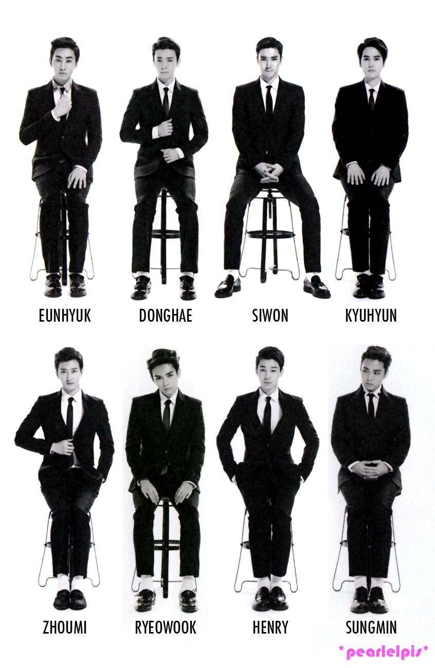 SUPER JUNIOR M SWING (These can are over the age of 25! Looking