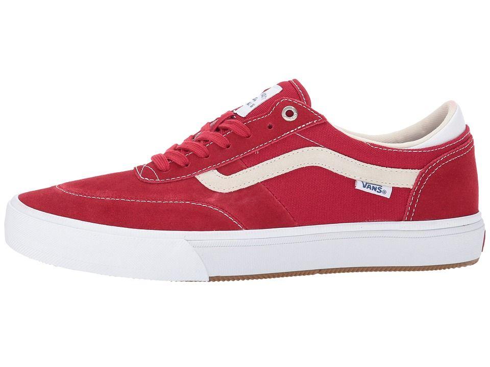 16e0558667fca2 Vans Gilbert Crockett Pro 2 Men s Skate Shoes Chili Pepper White ...