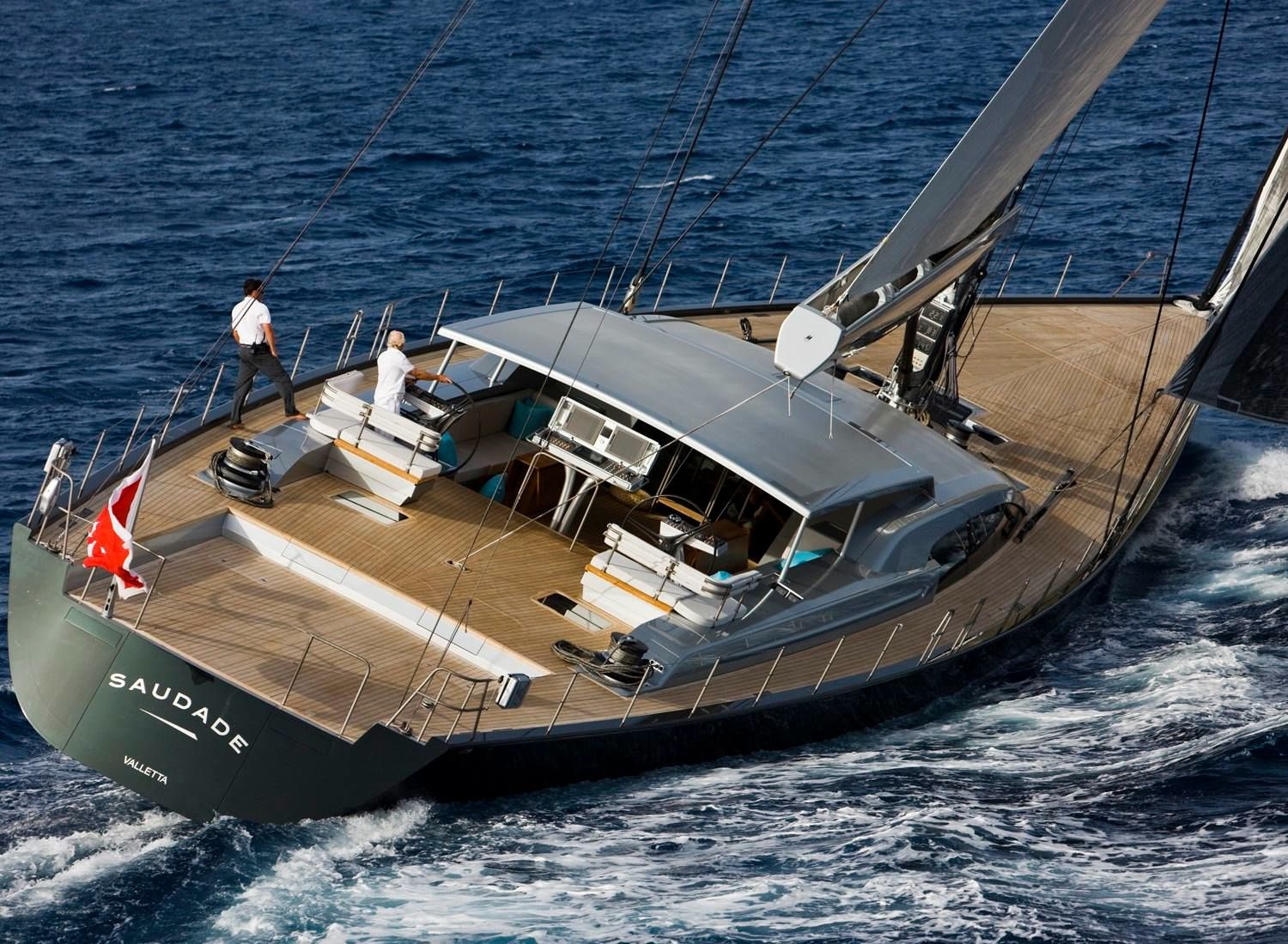 S Y Saudade 150 Of Wally Beauty With Images Luxury Sailing