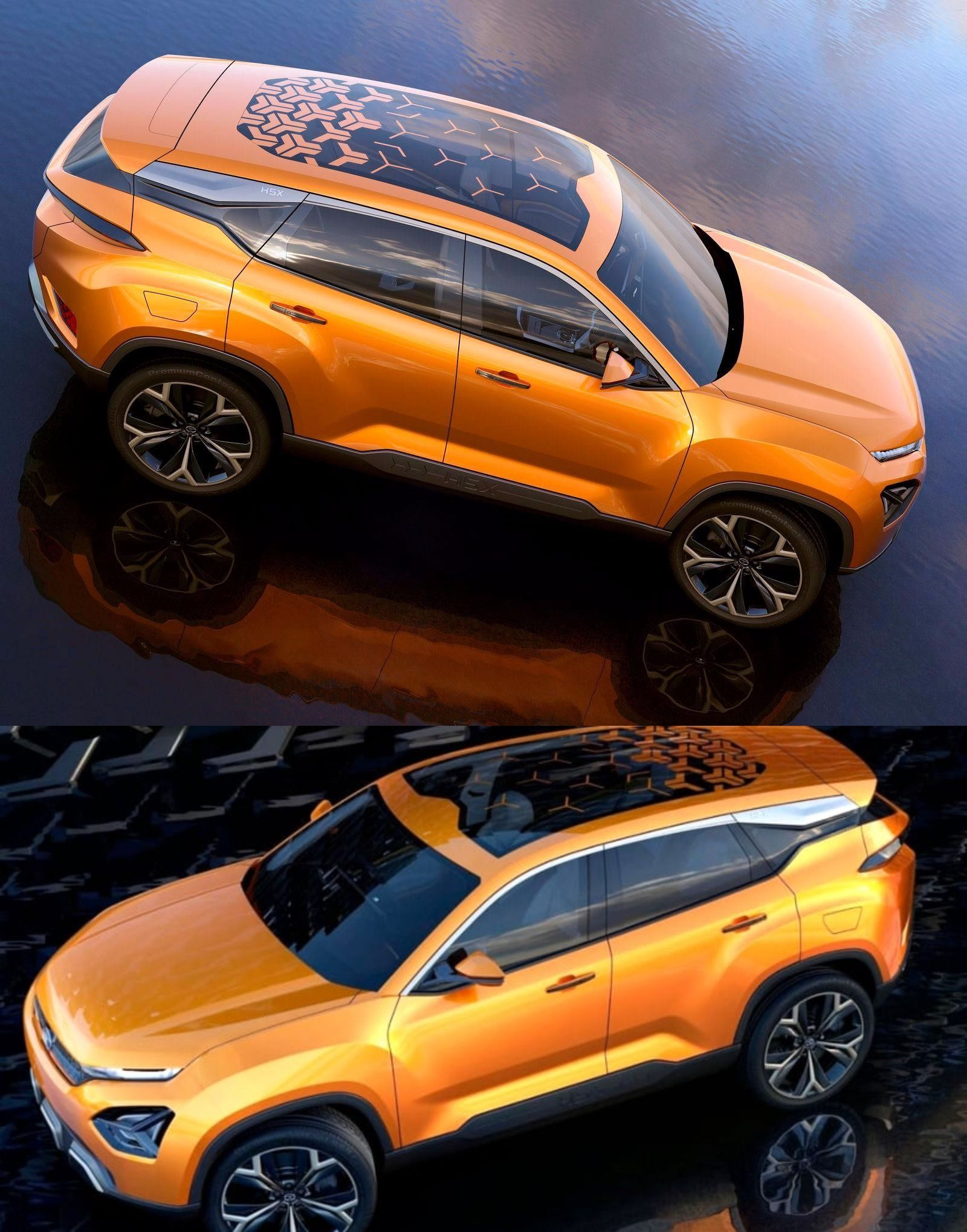 Tata H5x To Get Harrier As Market Name Tata Motors Concept Cars