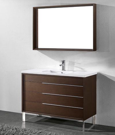 Milano Inch Discount Modern Walnut Bathroom Vanities Http Www