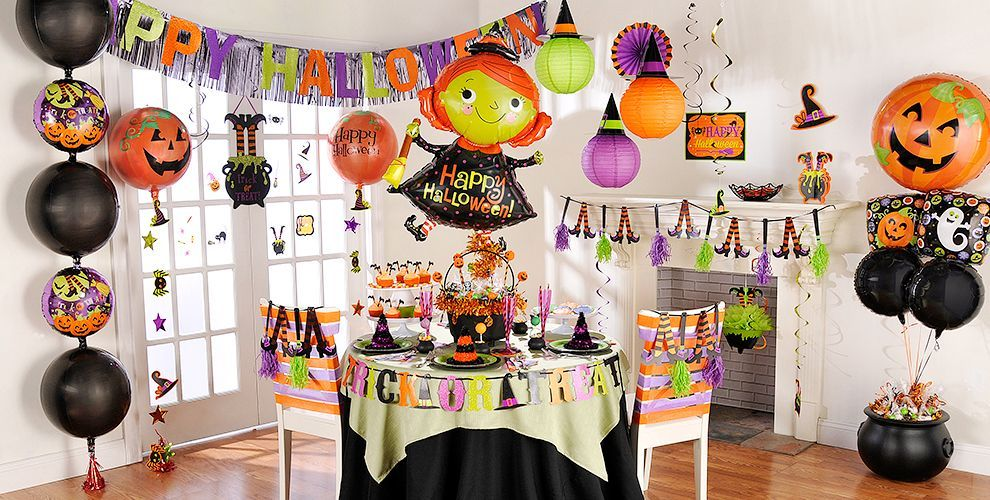 witchs crew halloween party supplies - Halloween Party Decoration Ideas
