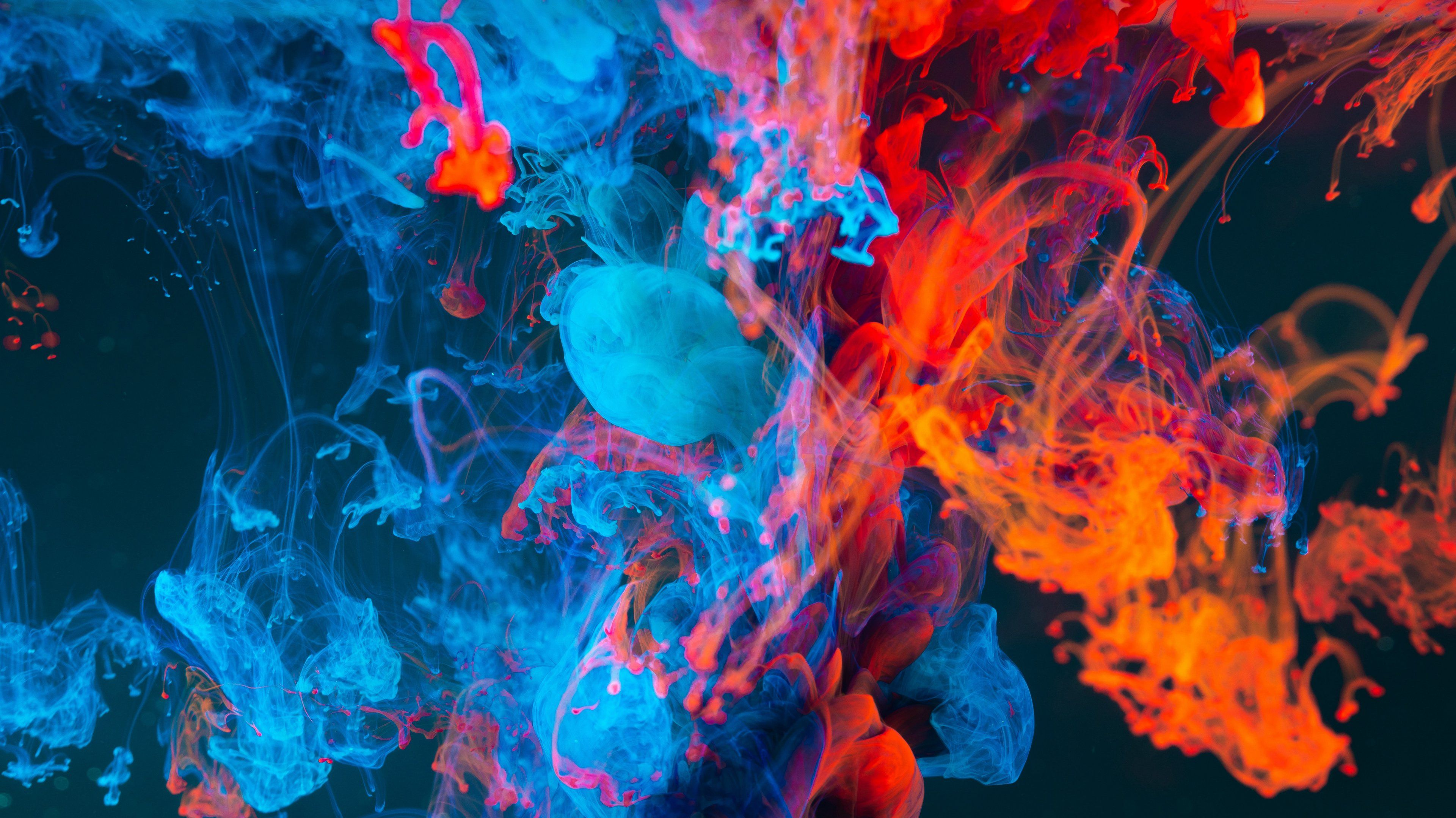 Paint Liquid Abstract 4k Wallpaper In 2020 Abstract Hd Backgrounds Wallpaper