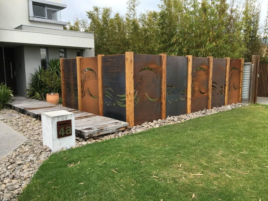 Fence Screen Ideas Around A Patio