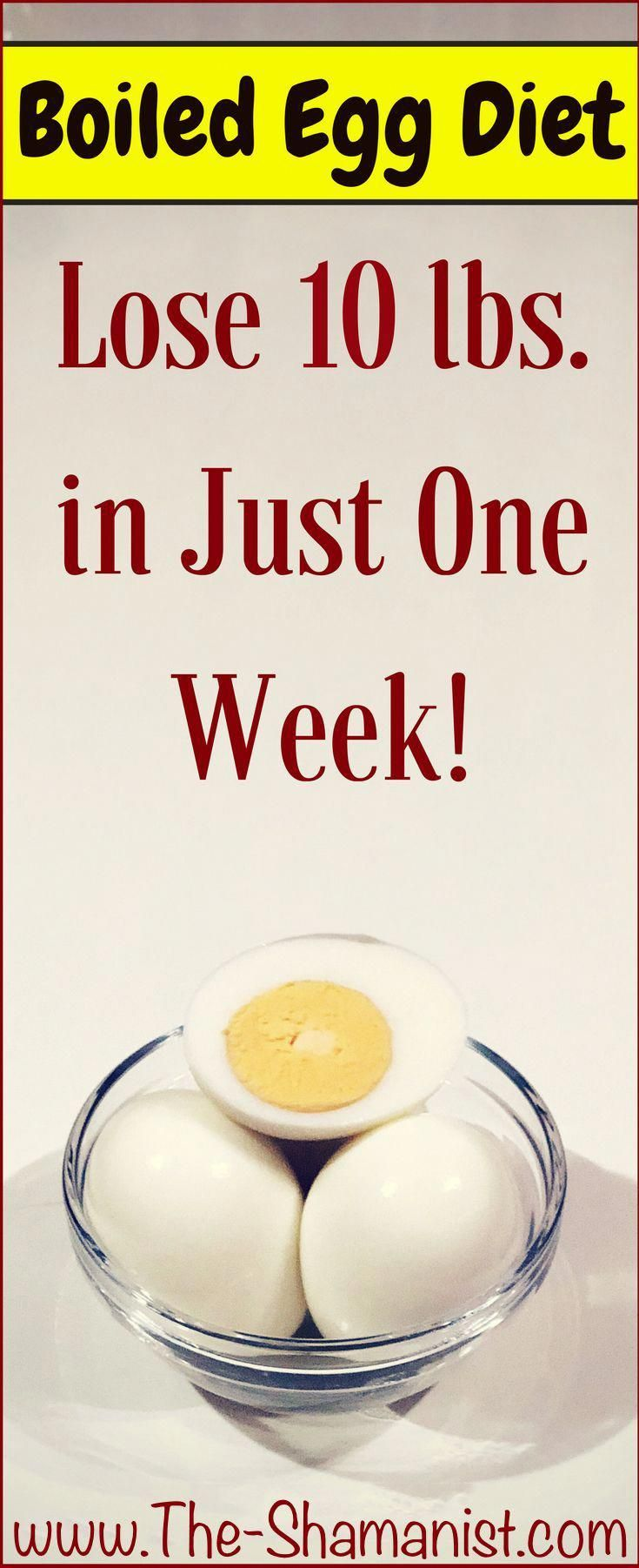 The EGG Diet A Safe Way to Lose 10 lbs in Just 1 Week Be ...