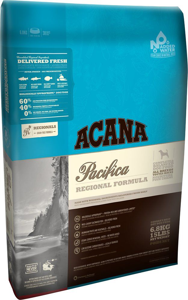 Acana Pacifica Regional Formula Grain Free Dry Dog Food 28 6 Lb