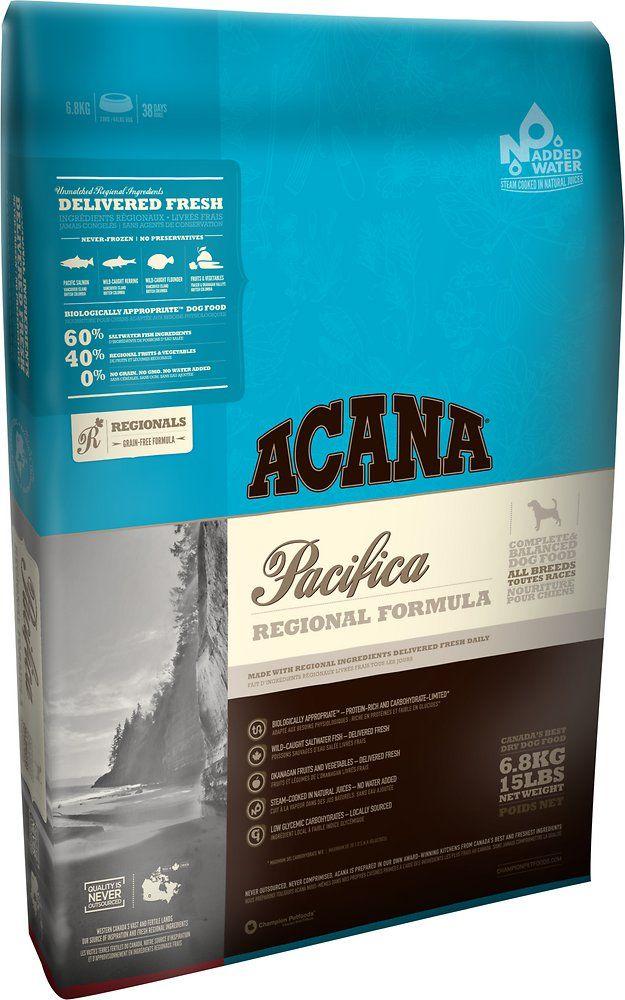 Acana Pacifica Regional Formula Grain Free Dry Dog Food 28 6 Lb