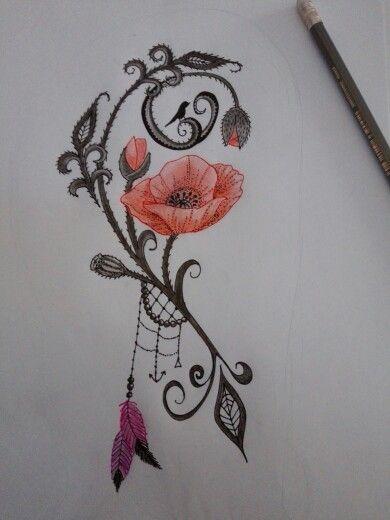 Tattoo Mohnblume Blumen Tattoo Mohnblume Erstes Tattoo