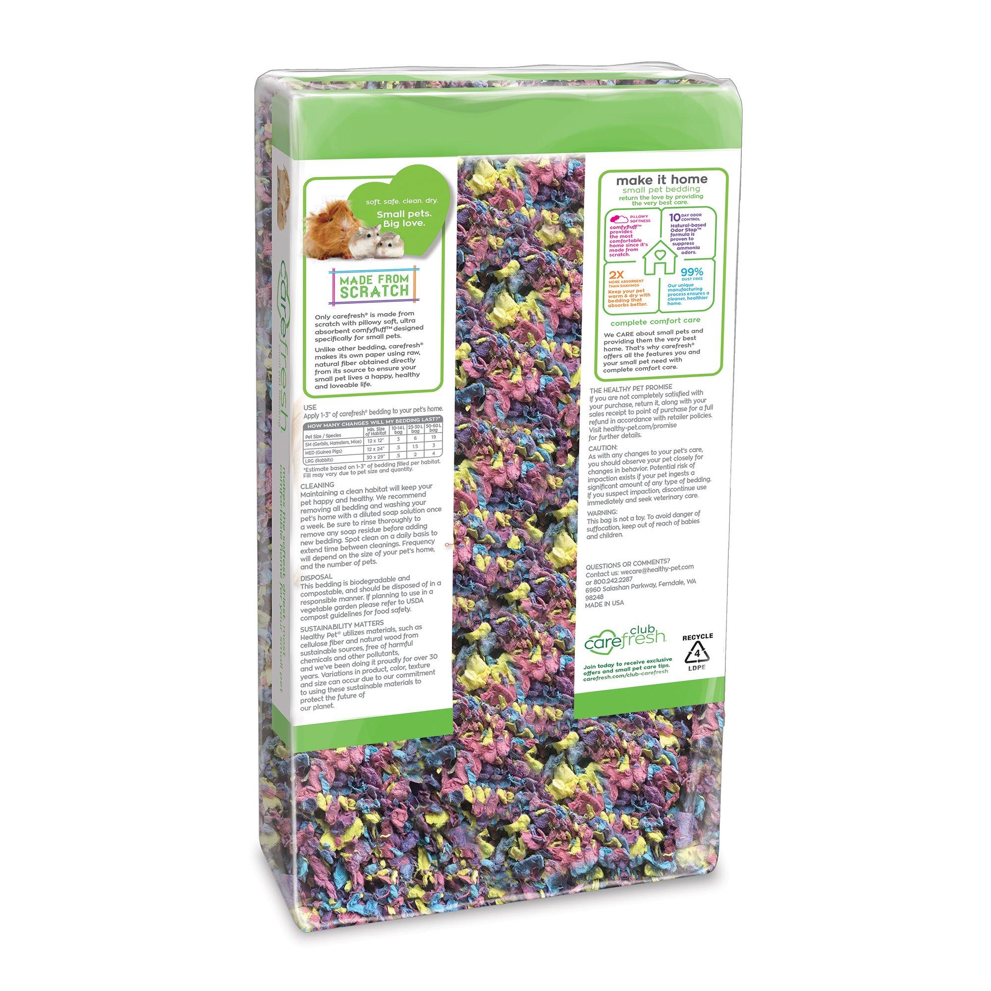 Carefresh Confetti Small Pet Bedding, 10 Liter, 10liter