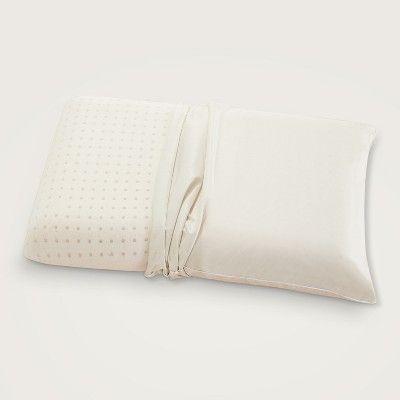 Standard Queen Gel Memory Foam Pillow With Copper Embedded