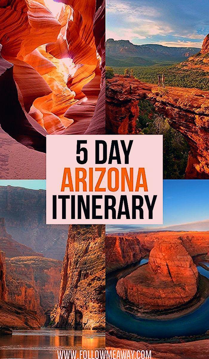 The Ultimate 5 Day Arizona Road Trip Itinerary - Follow Me Away