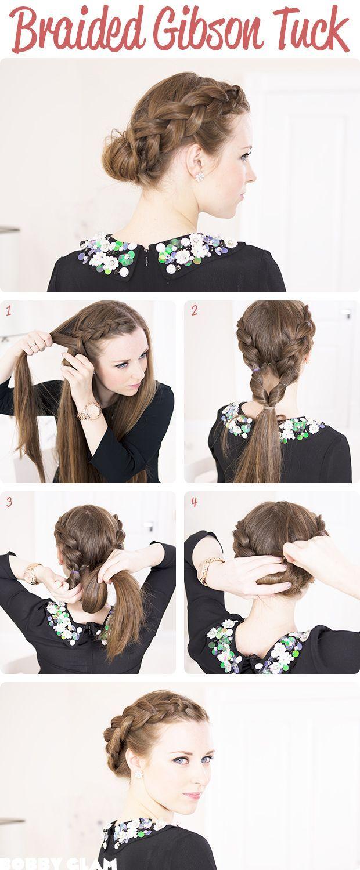 9 pinterest inspired braid hairstyles gibson tuck and hair style 9 pinterest inspired braid hairstyles gibson tuckgibson girlhairstyle tutorialsbraided baditri Gallery
