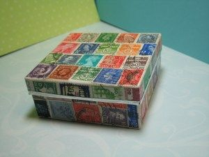 Vintage Postage Stamp Box | Jewelry by Jill Online