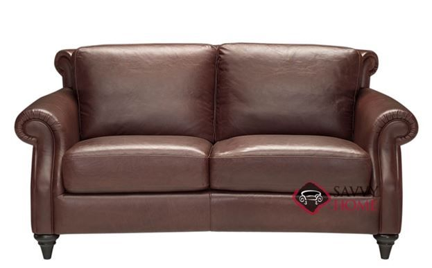 Wondrous Basento Leather Loveseat By Natuzzi Editions A297 005 Gmtry Best Dining Table And Chair Ideas Images Gmtryco
