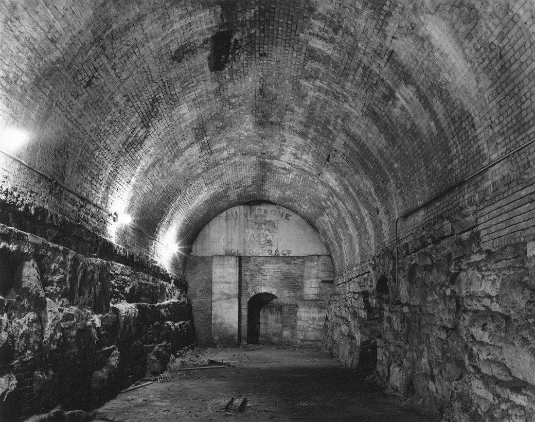 Image Wine Cellar Brooklyn Bridge 1992 By Photographer