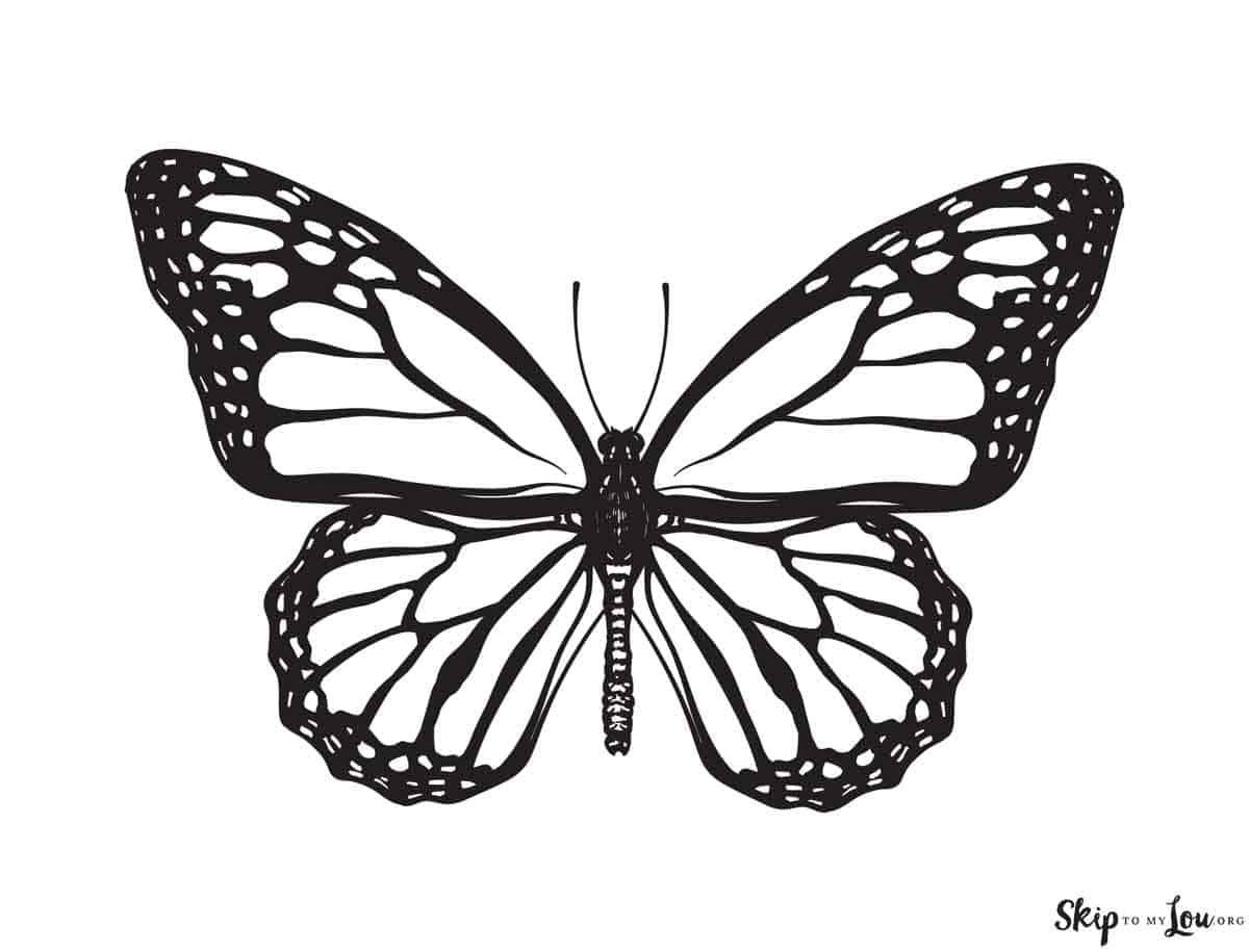 Free Printable Butterfly Coloring Page Butterfly Tattoo Stencil Butterfly Tattoo Butterfly Tattoo Designs [ 915 x 1200 Pixel ]