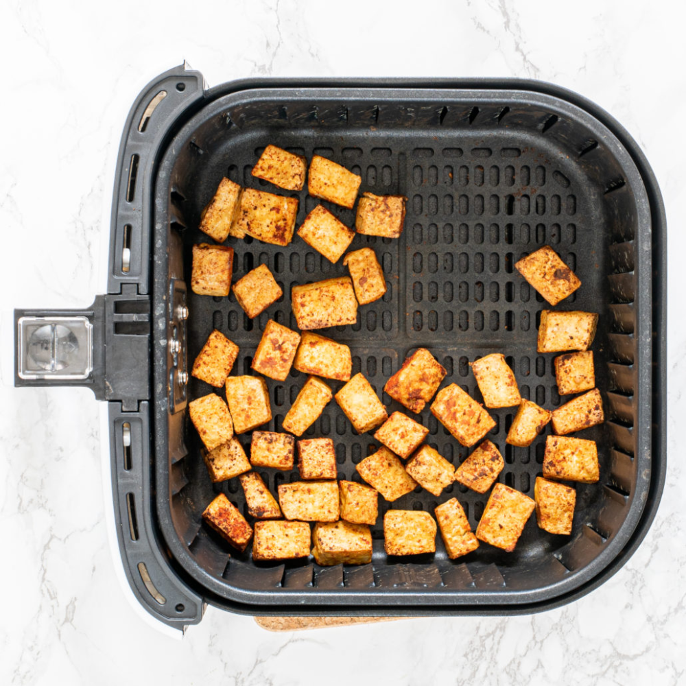 Vegan AirFried Tofu Nuggets (oilfree) Recipe Tofu