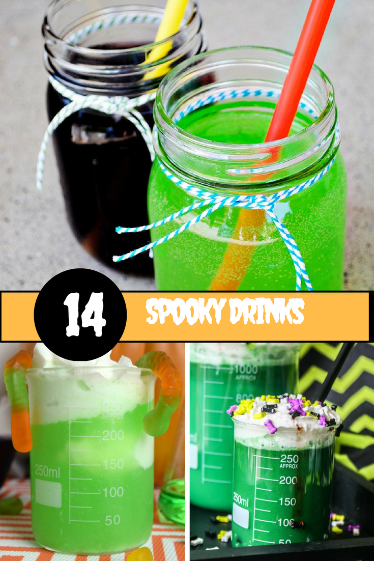Halloween Drinks for Kids to Sip on at Halloween Parties