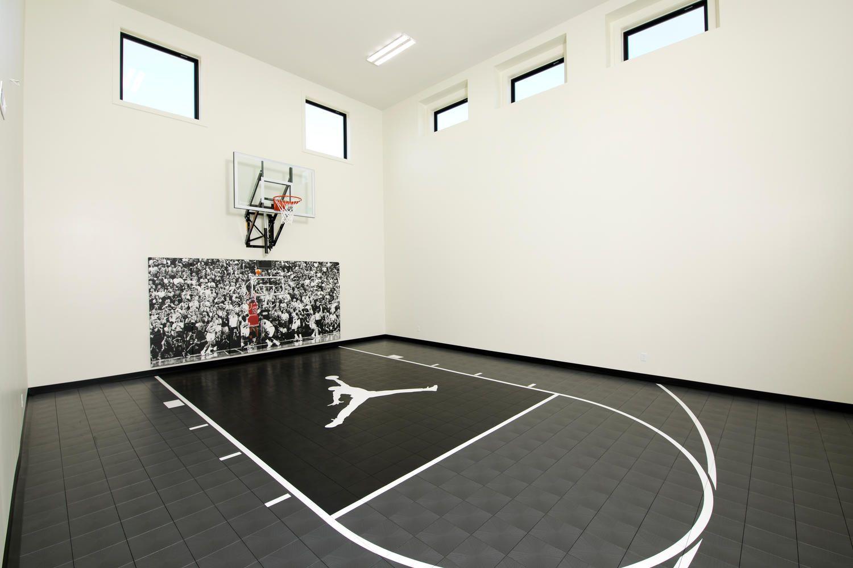 Sport Court Baley Floorplan Gathering room, Flex room