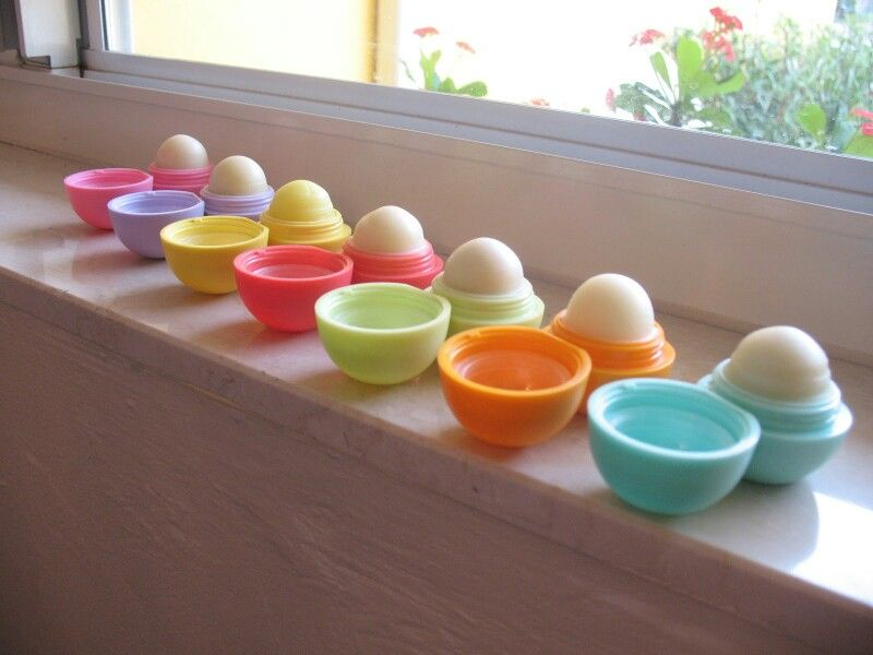 eos lip balm collection! My goal is to get every single 1 ...