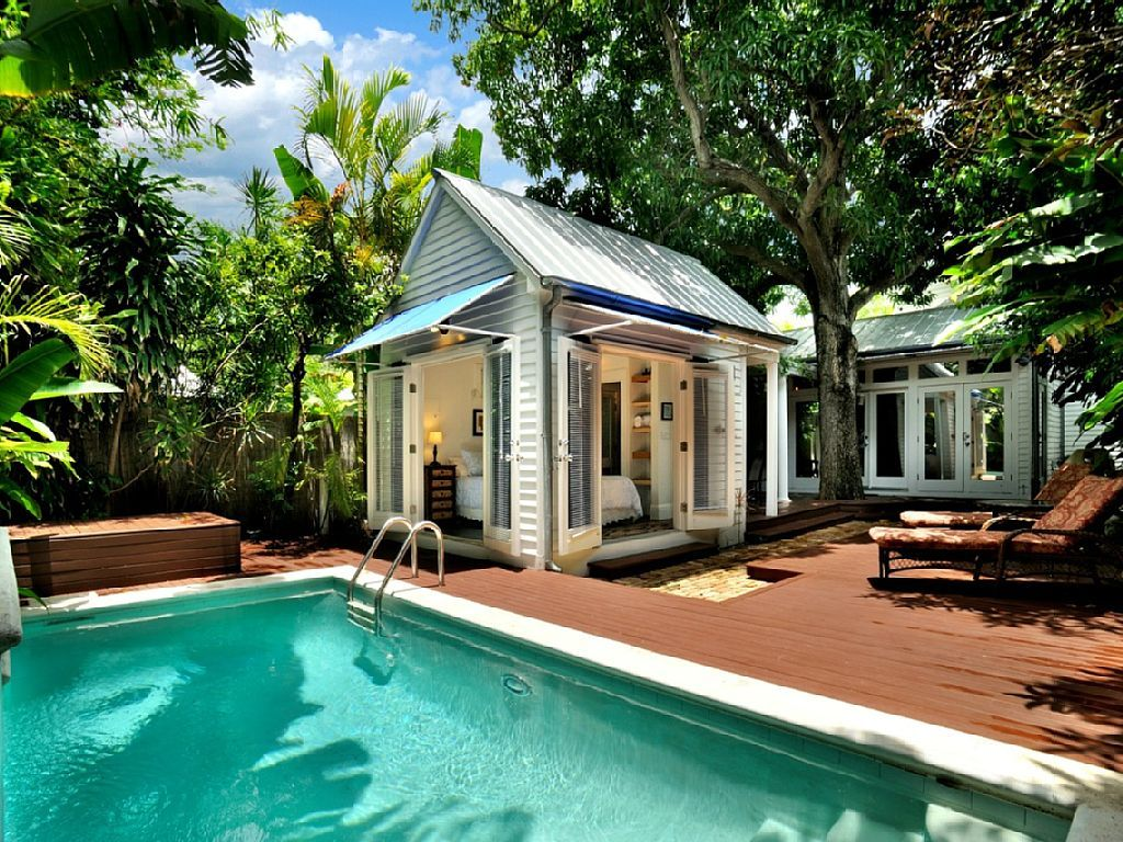 pool house Key west vacations rentals, Vacation home
