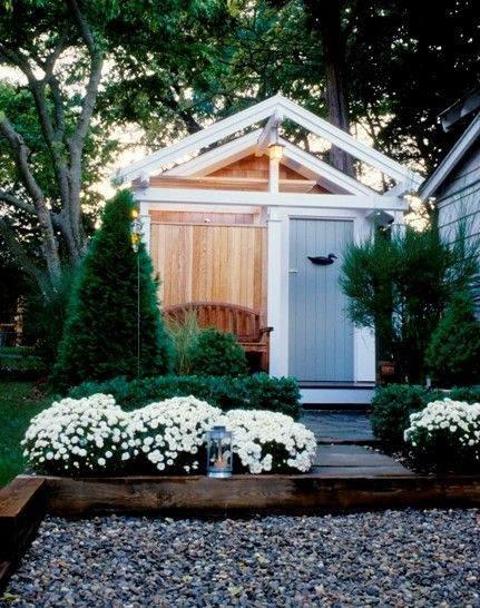 outdoor shower and surfboard storage shed in nj