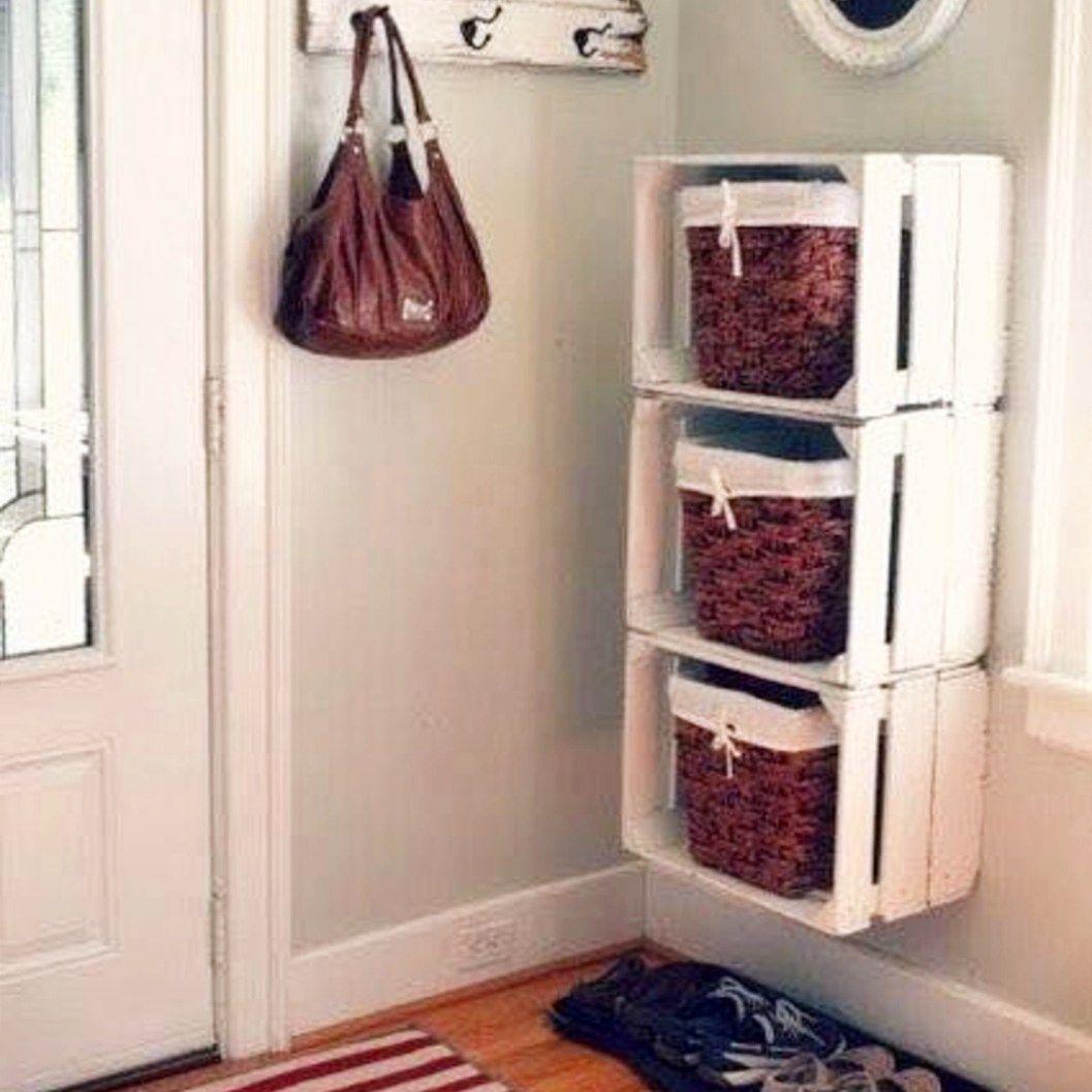45 Fancy Small Apartment Organization Ideas | Small ...