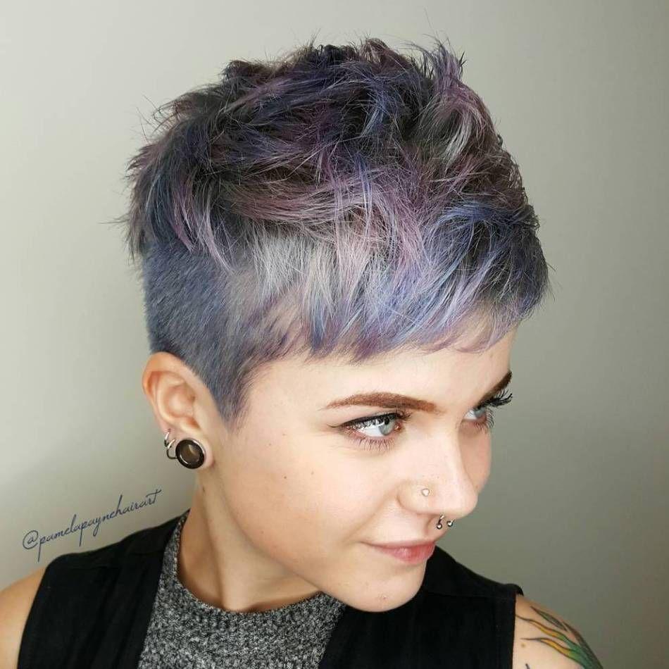 60 Overwhelming Ideas For Short Choppy Haircuts Undercut Pixies