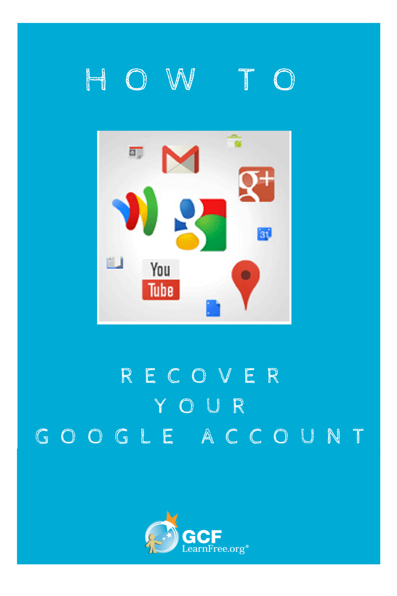 If you find yourself locked out of your Google or Gmail