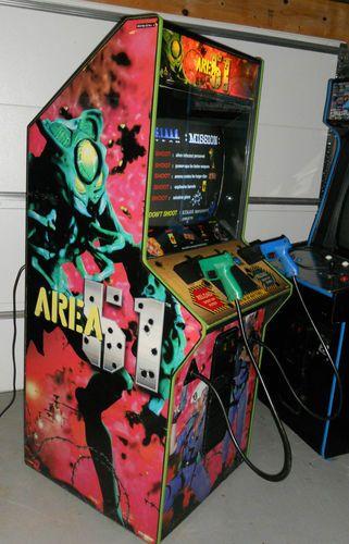 Area 51 Atari Arcade Video Game Machine Vending Coin Op | eBay ...