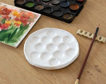 Gouache Paint Etsy Uk In 2020 Ceramic Pottery Painting Paint Selections
