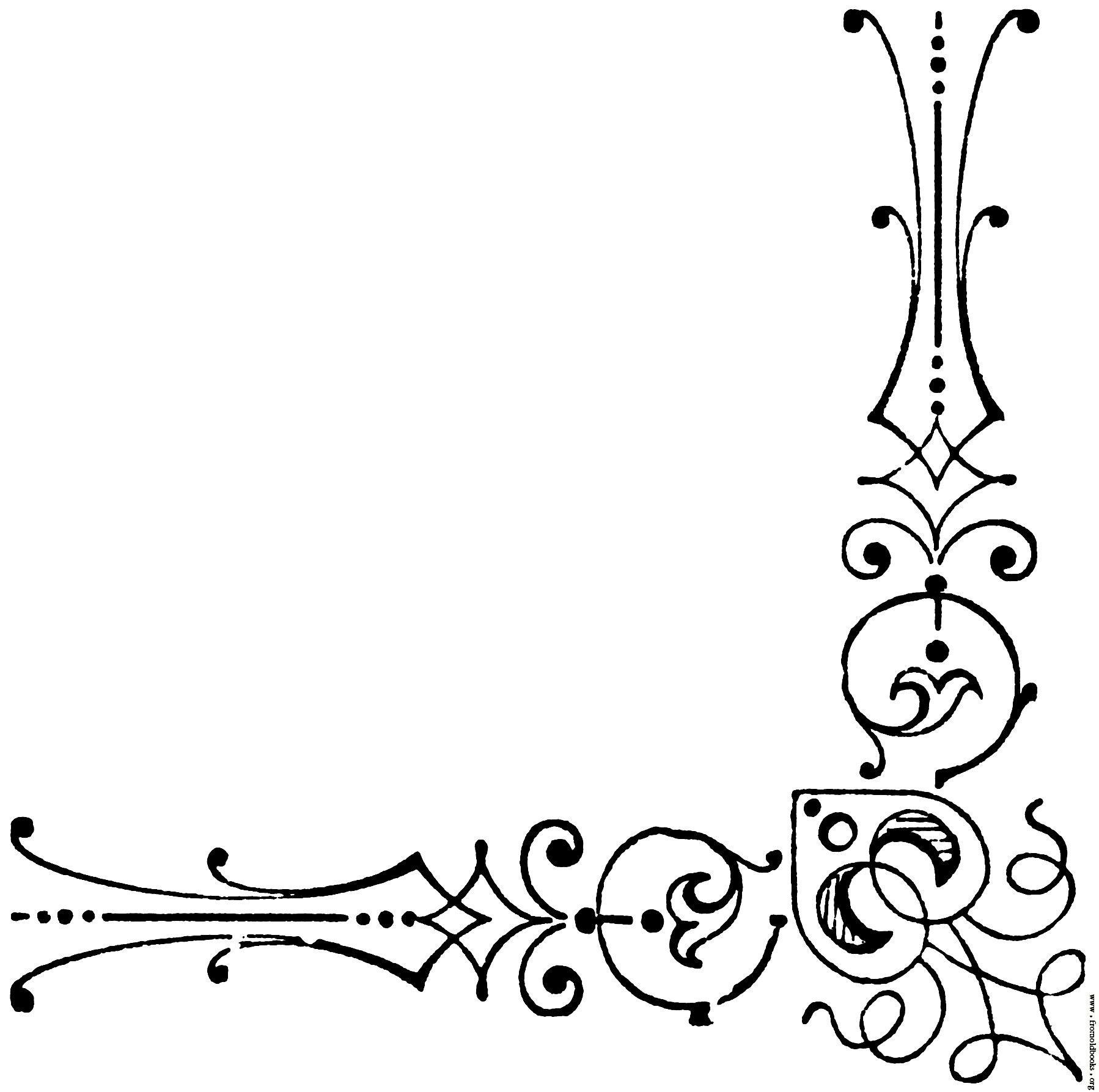 Celtic-vine-corner Clip Art at Clker.com - vector clip art online, royalty  free & public domain