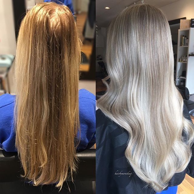 Beautiful Cool Blonde Transformation Using Oligopro Cool Toned