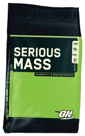 Serious Mass Chocolate 12 Pound Powder Protein Pantry