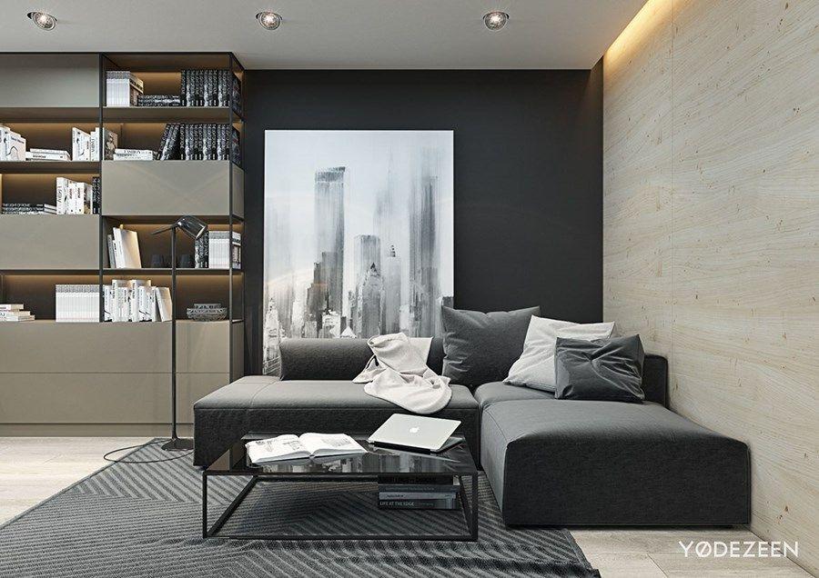 Small Flat In Kievyodezeen 04  Myhouseidea  Arquitectura Classy Interior Design Living Room Small Flat Inspiration Design