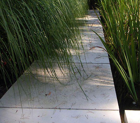 Interieur-beton,wijnnissen en betonnen tuinmeubilair Ambuton Wevelgem. - Tuin