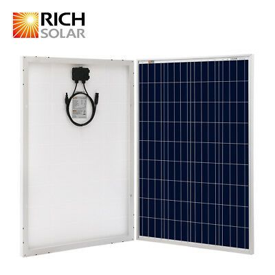 Rich Solar Solar Panel Adjustable Side Of Pole Mount Up To One 200w Module 54 99 In 2020 12v Solar Panel Solar Panels Flexible Solar Panels