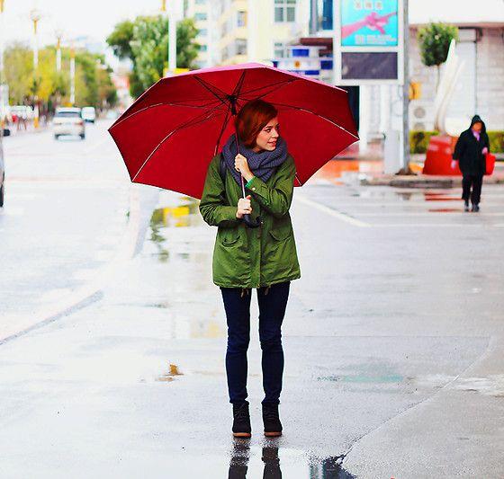 Rain (by Anastasiya Chernenko) http://lookbook.nu/look/4126600-Rain
