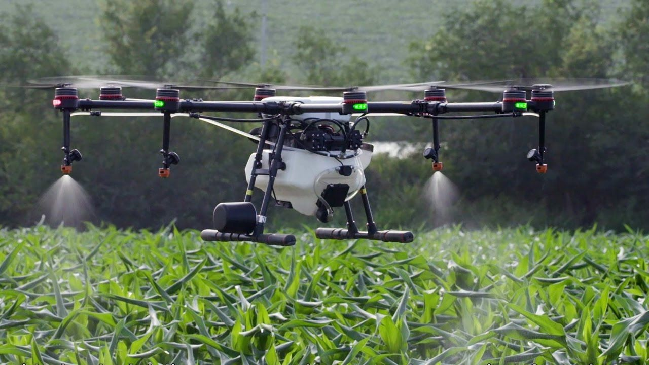 DJI MG-1S - Agricultural Wonder Drone
