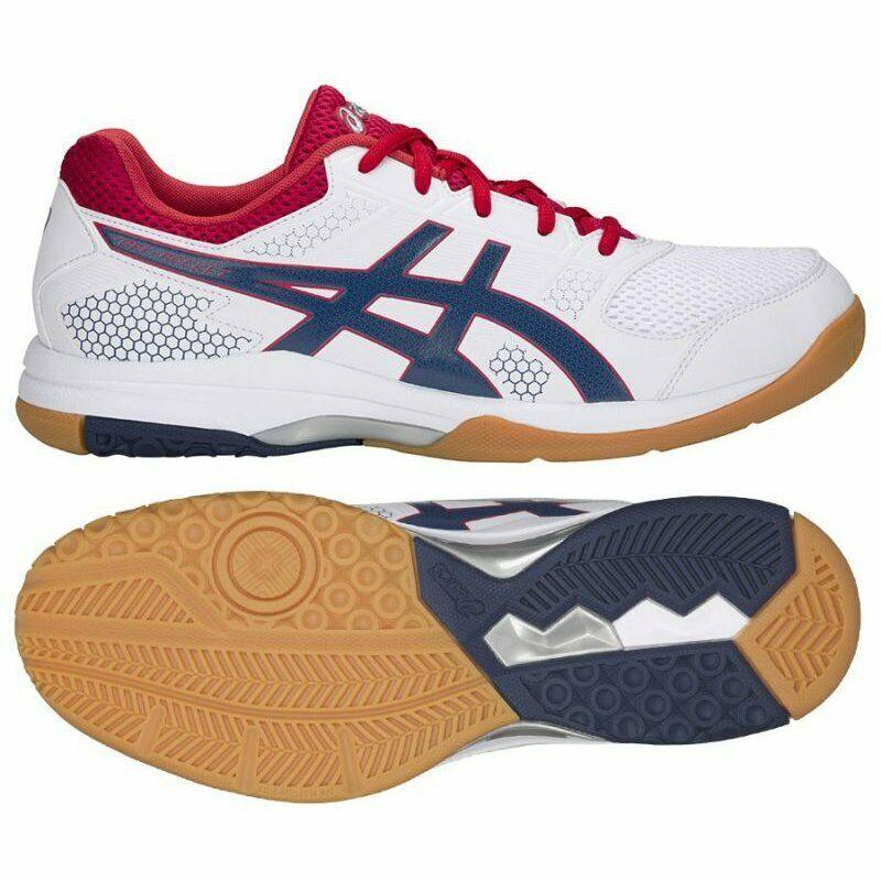 Details About Asics Gel Rocket 8 M B706y 100 Volleyball Shoes White White Volleyball Shoes Asics Badminton Shoes