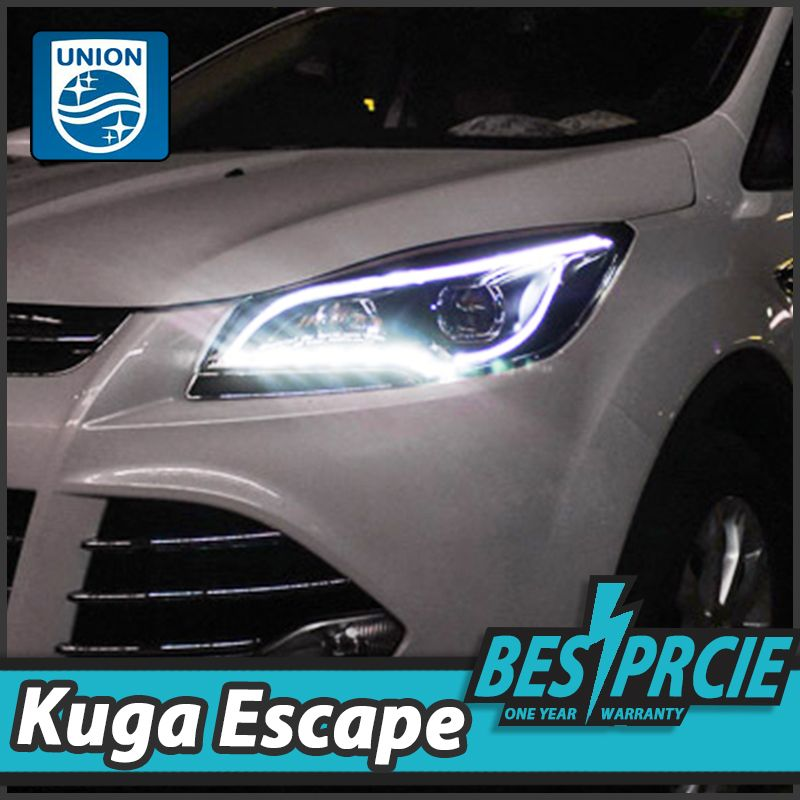 Union Car Styling For Ford Kuga Headlights 2013 2015 Ford Escape